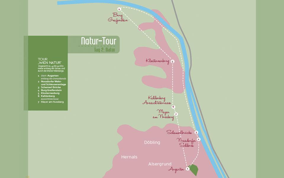Golf City Guide Wien Natur-Tour