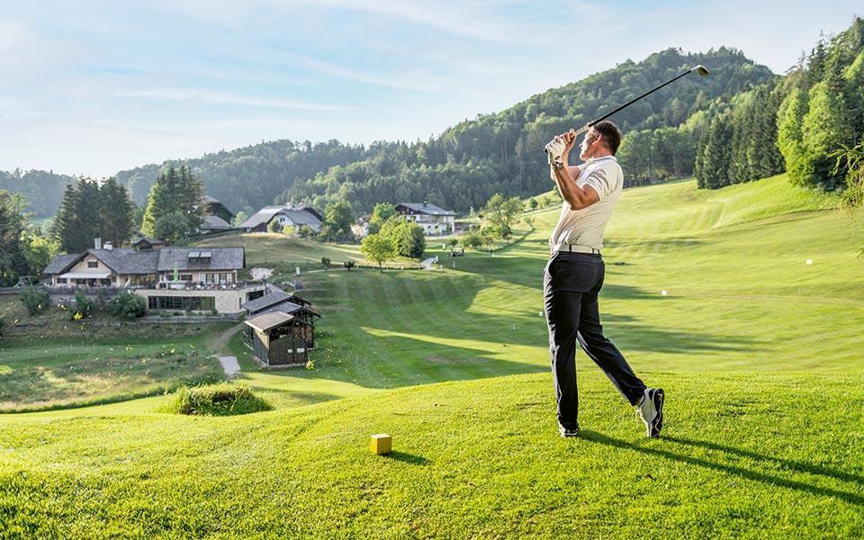 Golfer mit Alm - Mozartstadt Salzburg und das Salzburger Land