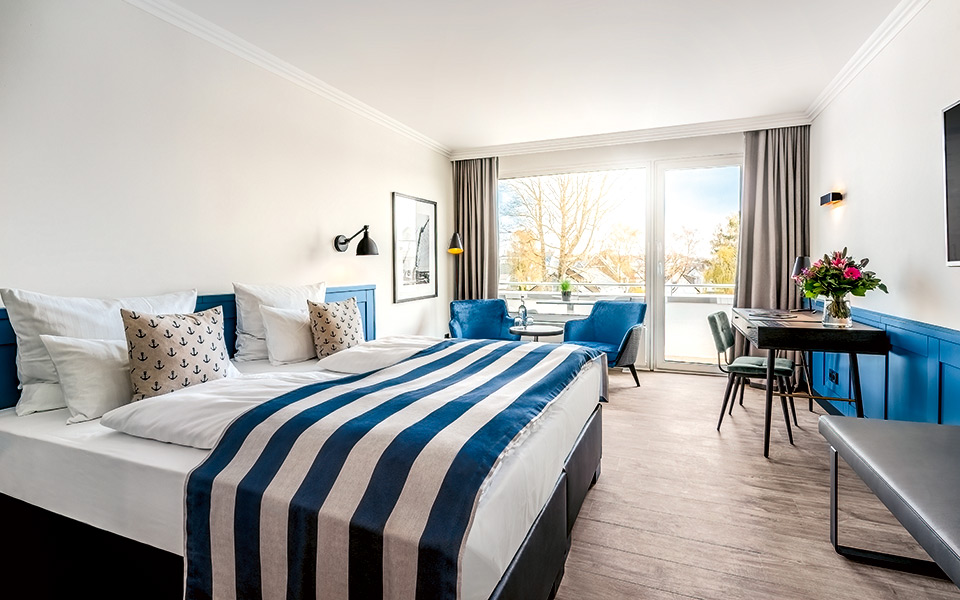 Yachtclub Hotelzimmer - Welcome  to the Bay of Lübeck?! – Golfclub Scharbeutz