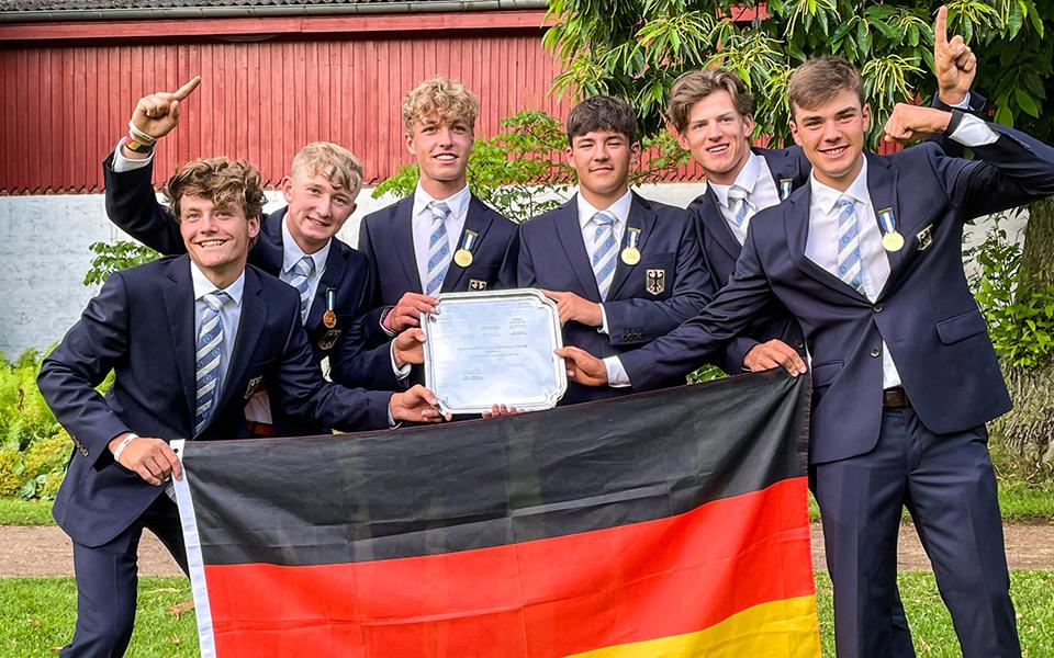 golf europameisterschaft jungen s - Golf Europameisterschaft 2021 – Deutschlands Jungen holen den Titel!