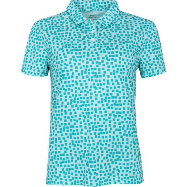 Nike Golf Poloshirt Dri-Fit kurzarm türkis