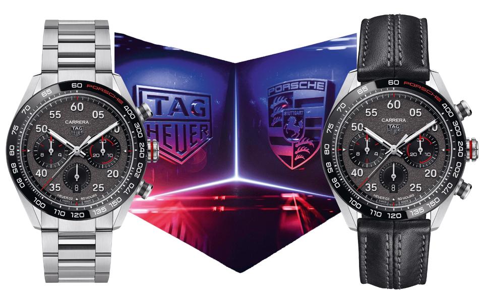 TAGHeuer Carrera Porsche Chronographen modelle - TAG Heuer Carrera Porsche Chronographen – Rasante Partnerschaft mit Rennsport-DNA
