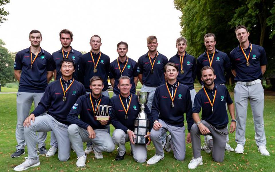TeamHubbelrath2 byTiess - Deutsche Golf Liga 2021 – GC Hubbelrath wird Mannschaftsmeister der Herren