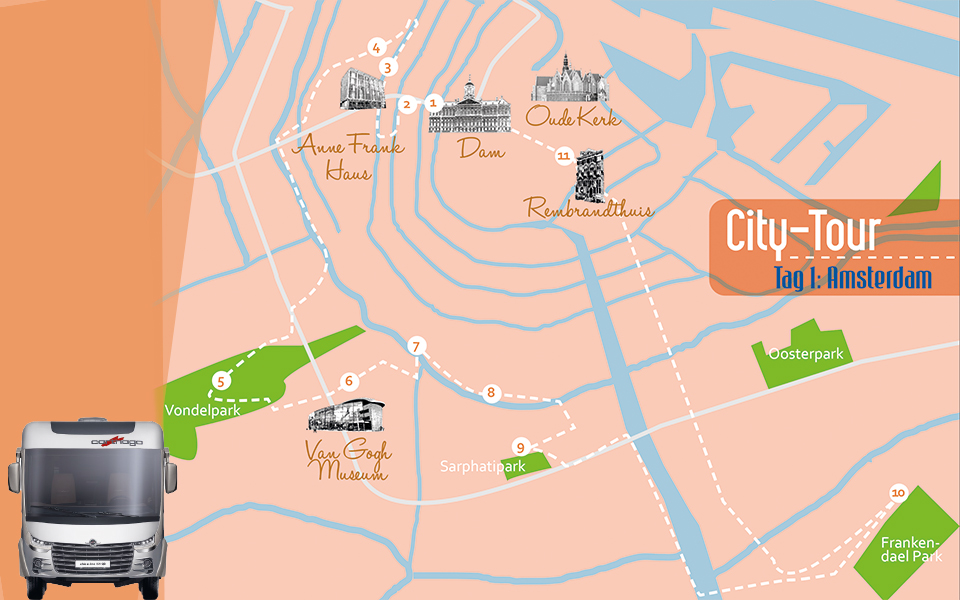 citytour amsterdam1 - Golf City Guide Amsterdam