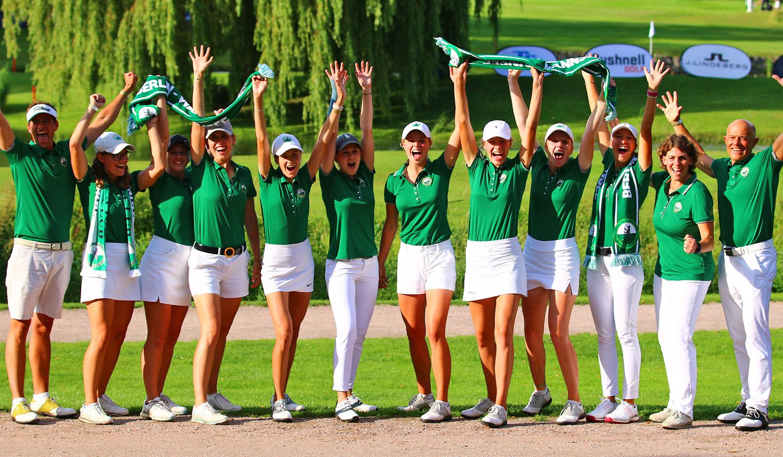 wannsee dgl byStebl - Deutsche Golf Liga 2021 – GLC Berlin-Wannsee wird Mannschaftsmeister der Damen