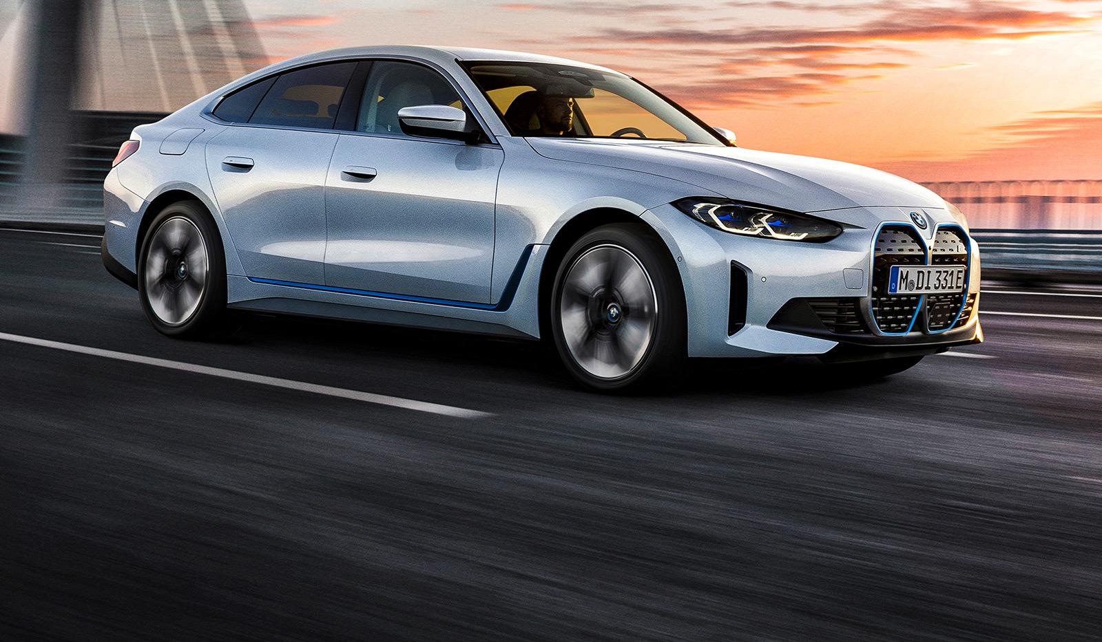 bmw i4 edrive4 - BMW i4 – Freude am Fahren
