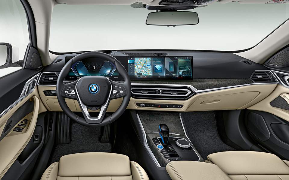 bmw i4 interieur - BMW i4 – Freude am Fahren
