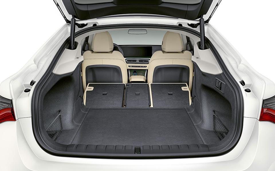 bmw i4 kofferraum - BMW i4 – Freude am Fahren