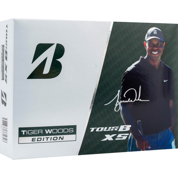 Bridgestone Golfball Tour B XS Tiger Sonderedition weiß