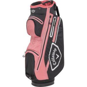 Callaway Cartbag Chev Dry 21 pinkschwarz