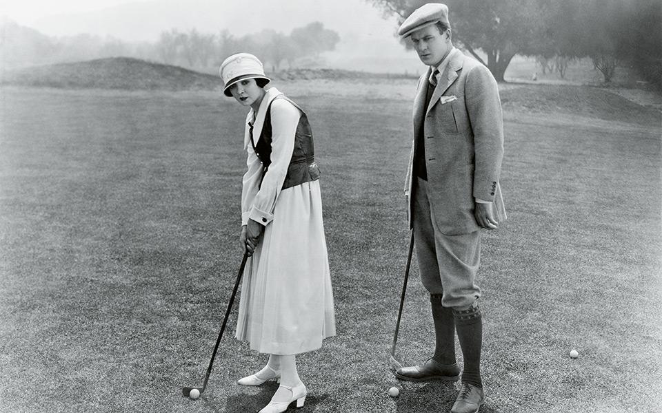 golfschuhe frueher Everett Collection shutterstock - ECCO Golfschuhe für den perfekten Schlag