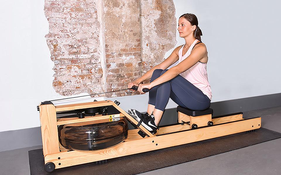 monarck waterrower - Train @ Home in Kooperation mit MONARCK Fitness