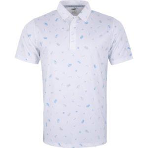 Puma Poloshirt Snack kurzarm weiß